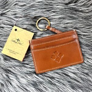 NWT Patricia Nash genuine leather card wallet